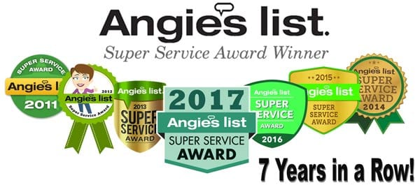 Award Winning Tree Service- Texas Tree Team - Angies List 7 years in a row